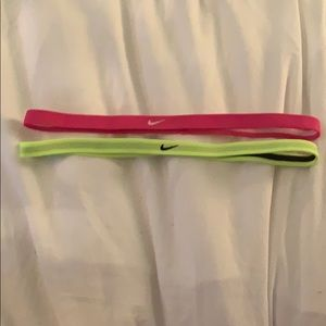 Double sided Nike head bands